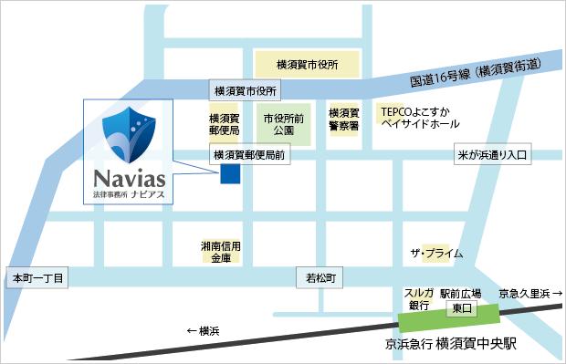 横須賀オフィスマップ